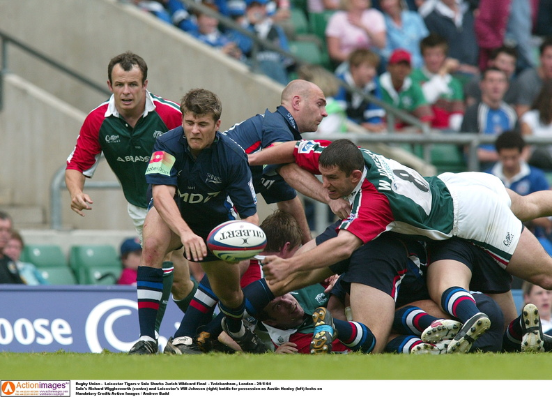 Will Johnson Leicester Tigers Sale 2 29 5 2004